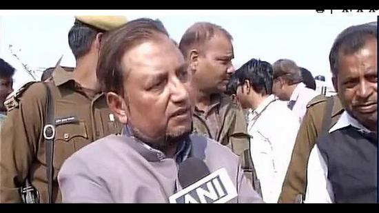 A probe has been ordered into the videos featuring IAS officer Mohammad Iftekharuddin, dating back to the previous Samajwadi Party rule in Uttar Pradesh (Photo Courtesy- ANI)
