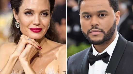 Angelina Jolie has been spotted with The Weeknd a few times.
