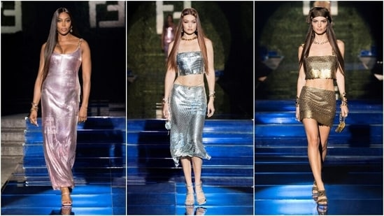 Meet Fendace: Fendi x Versace present joint fashion show at Milan Fashion week