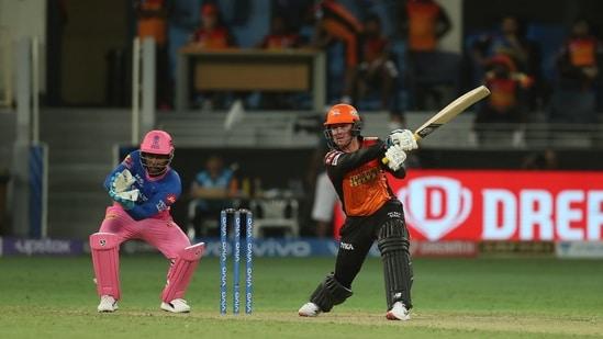 Jason Roy of Sunrisers Hyderabad(PTI)