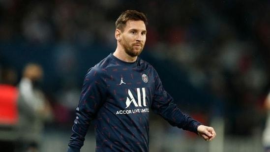 Paris St Germain's Lionel Messi(REUTERS)