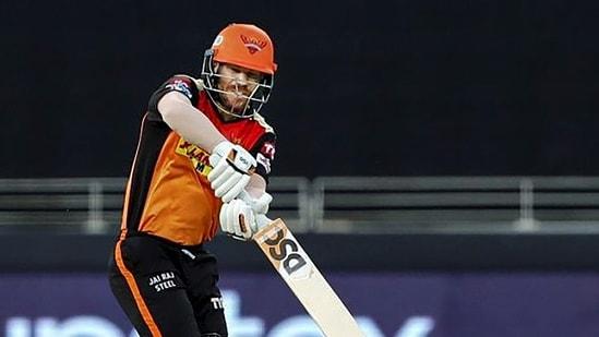 David Warner of Sunrisers Hyderabad