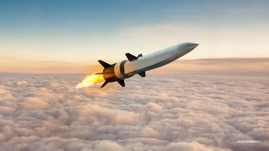The free flight test of the Hypersonic Air-breathing Weapon Concept (HAWC) occurred last week, the Defense Advanced Research Projects Agency, or DARPA, said in a statement.(via REUTERS)