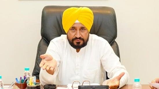 Punjab chief minister Charanjit Singh Channi.(HT_PRINT)