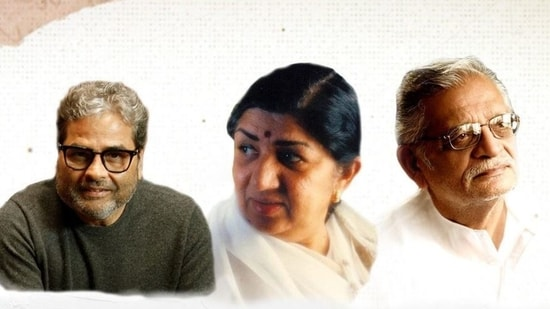 Lata Mangeshkar's song , written by Gulzar in the 90s, is now out.
