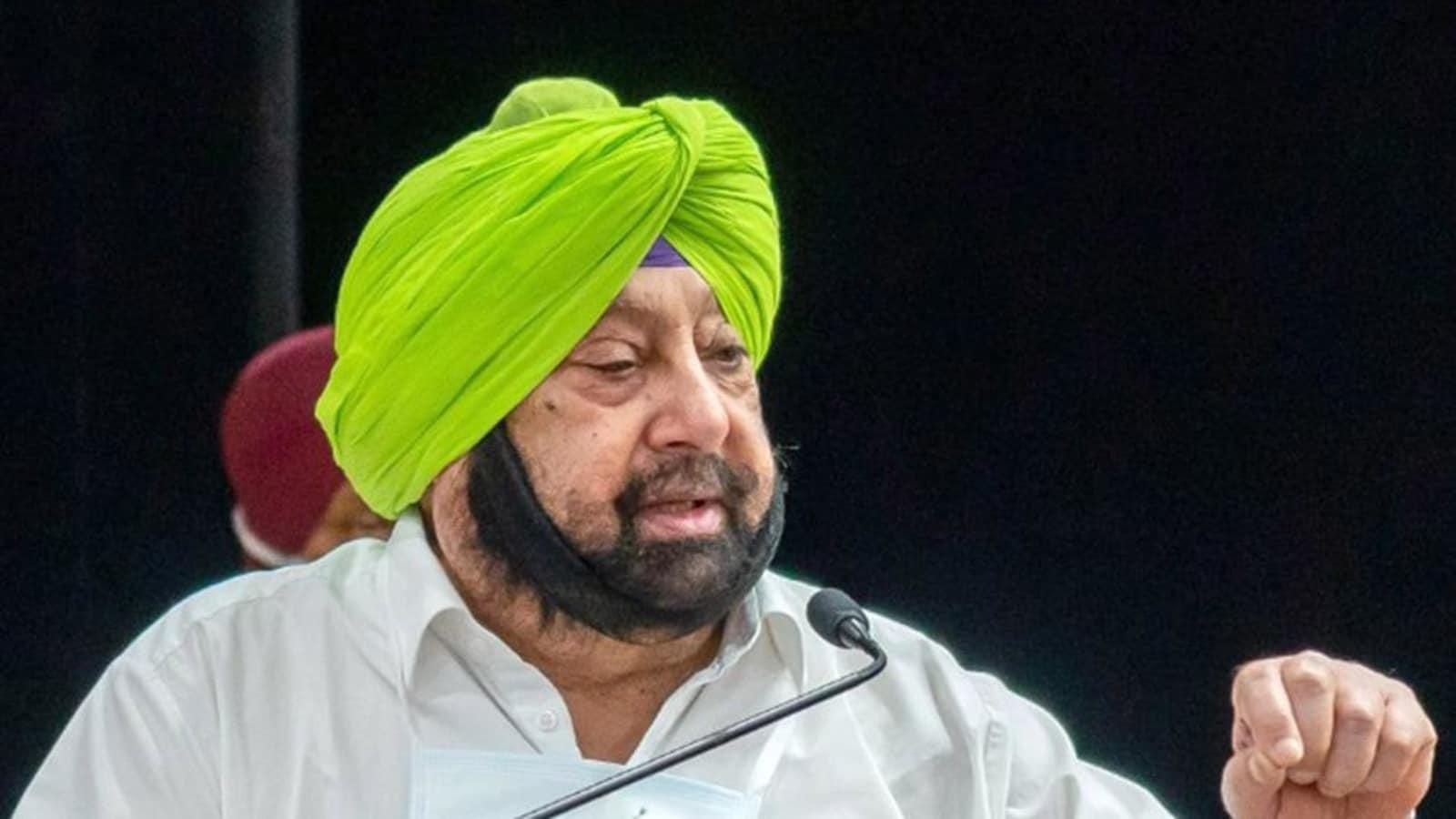 Capt Amarinder Singh reaches Amit Shah's residence amid Punjab Congress crisis