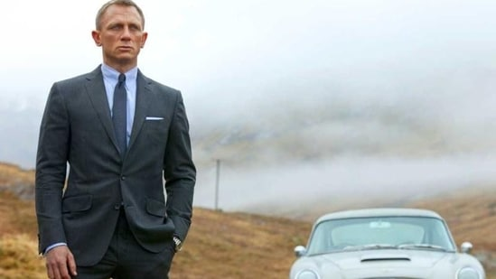 No Time To Die will be Daniel Craig's last outing as James Bond. (AP Photo/Sony Pictures, Francois Duhamel, File)