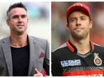 Kevin Pietersen and AB de Villiers
