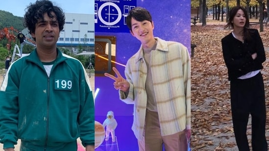 Squid Game star Anupam Tripathi has a connection with Song Joong-ki and Song Hye-kyo.