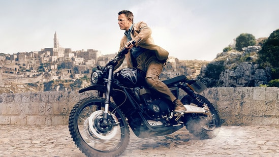 No Time to Die movie review: Daniel Craig in a still from his final James Bond film.