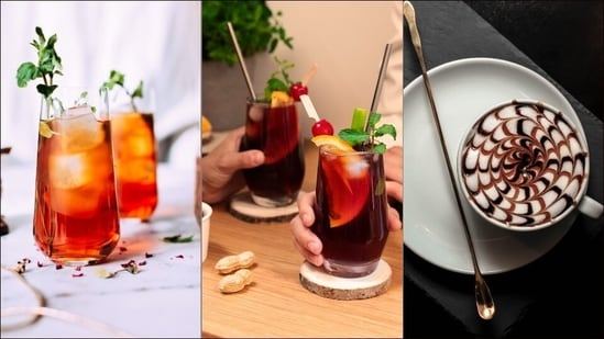 World Coffee Day: Flaunt your barista skills at home with these unique recipes(Abdul Sahid Khan, Head Trainer, Lavazza India)