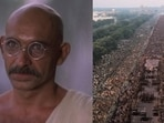 Ben Kingsley played the role of Gandhi.