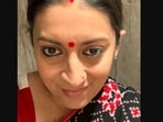 Smriti Irani shared this picture in her Instagram post.(Instagram/@smritiiraniofficial)