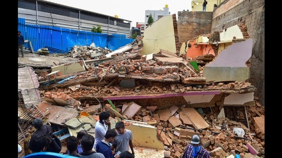 The Karnataka government has issued fresh order to raze old buildings in Bengaluru. (PTI)
