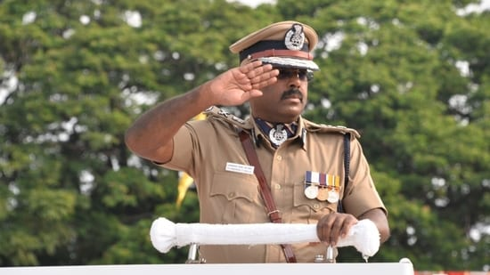 Two days before his retirement, a Chennai court allowed Prateep Philip to retrieve the cap and badge, submitted as material evidence in the case.