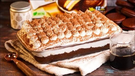 World Coffee Day recipe: Whip up no-bake Choco-Pie Tiramisu with Espresso Coffee(Orion )