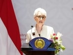 Sherman praised Pakistan's calls for an inclusive government in Afghanistan.(via Reuters)