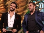 Salman Khan and Ranveer Singh on Bigg Boss 15.