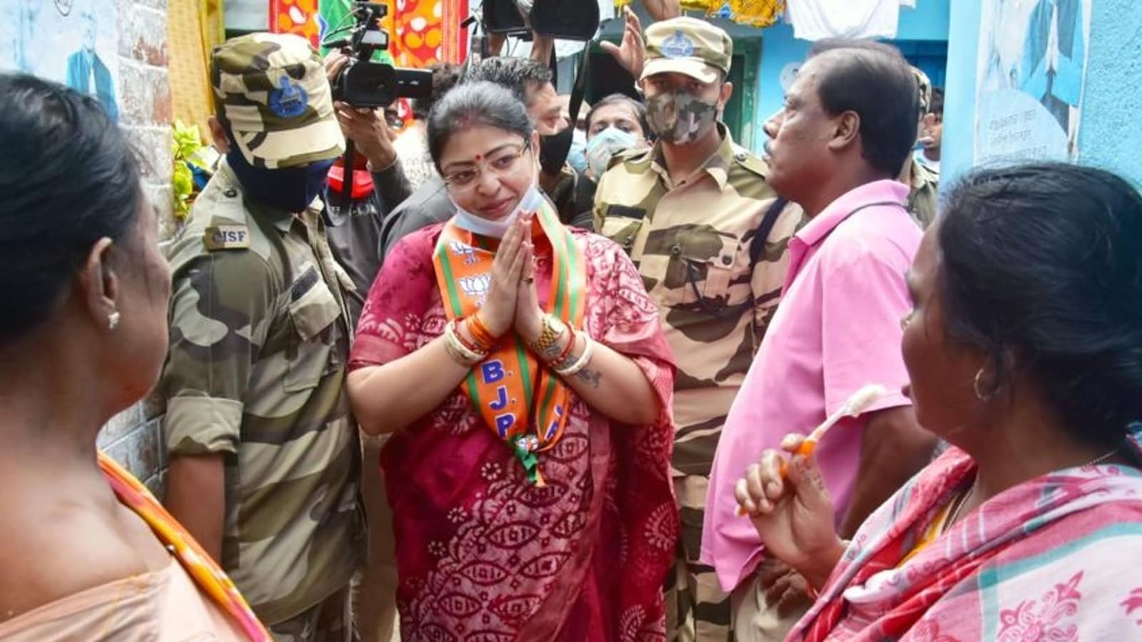 Bhabanipur by-poll: BJP's Priyanka Tibrewal writes to HC over fear of violence