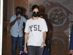 When it comes to appropriately dressing up for a long day of travelling, who knows it better than the Bollywood stars, whose swanky airport fashion always manage to steal our hearts? And when it comes to Katrina Kaif, Tiger Shroff and Tara Sutaria, it is expected to set higher standards of airport fashion with their simple, comfortable and stunning choice of attires.(HT Photos/Varinder Chawla)