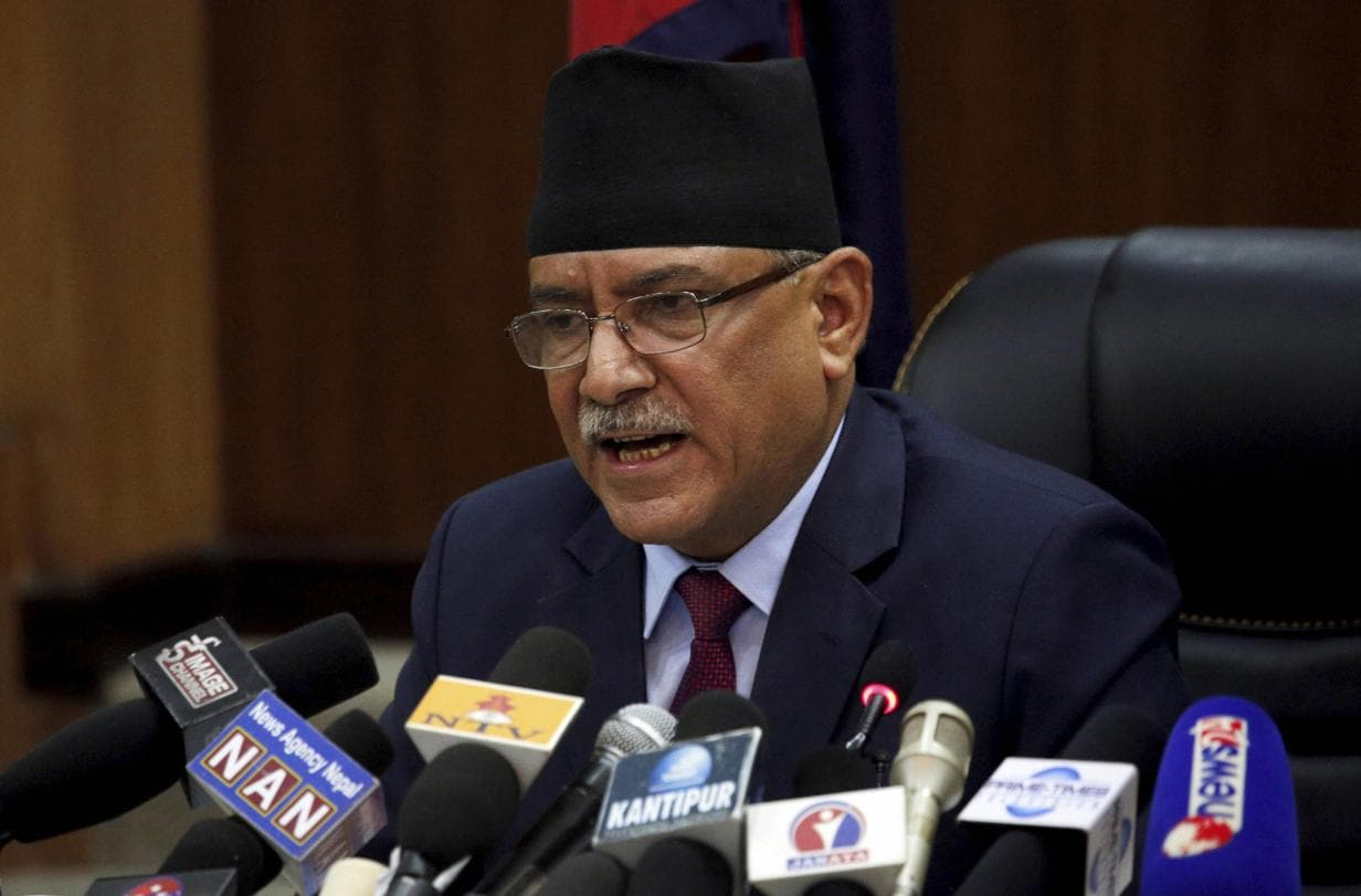 Prachanda is warm and friendly, says what you want to hear, makes you feel happy and then goes and does what he wants. Dependability is not his strongest point (AP)