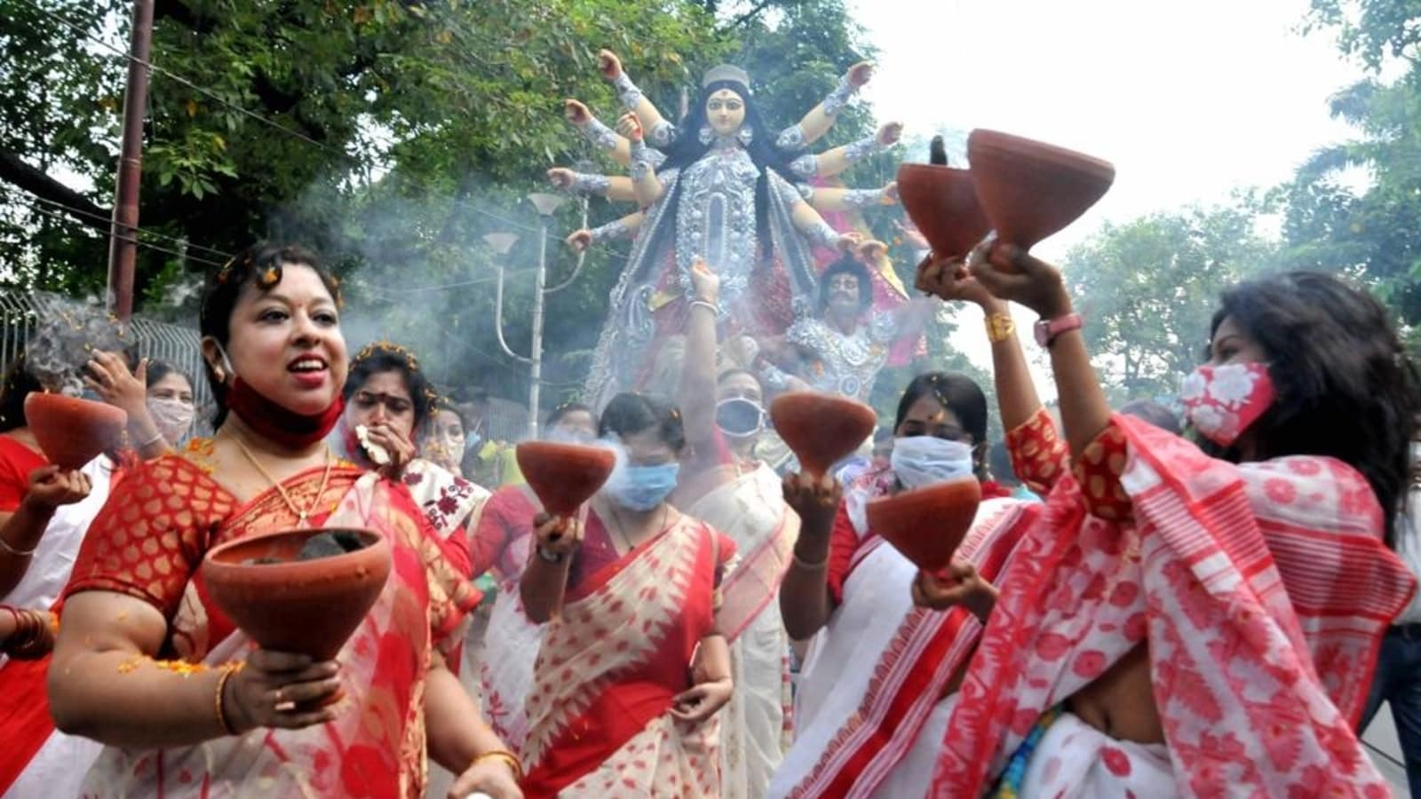 'Ban on carnival, cultural programmes…': Bengal govt issues Covid-19 guidelines ahead of Durga Puja