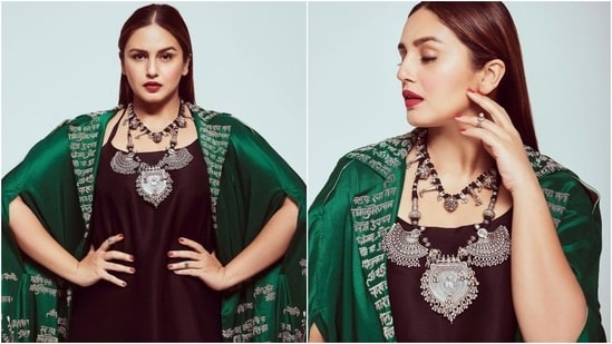 Bollywood star Huma Qureshi is spreading mythical vibes with her latest photoshoot, and we are falling irrevocably in love with her sartorial prowess. The actor's Instagram account is currently a window to her steal-worthy wardrobe, and each look blows our mind.(Instagram/@iamhumaq)