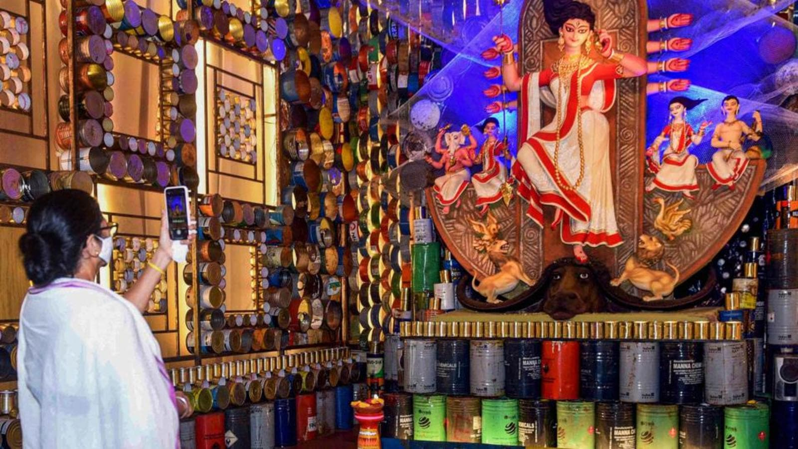 Bengal CM Mamata Banerjee to inaugurate Durga puja pandals
