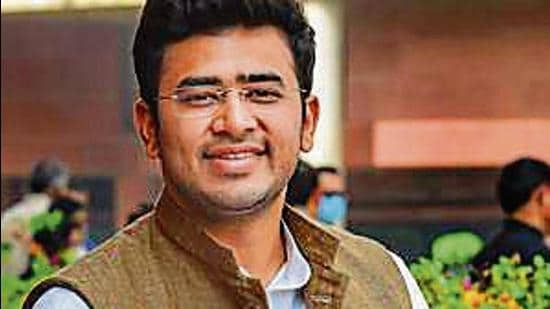 Bharatiya Janata Party (BJP) member of Parliament Tejasvi Surya on Wednesday said that he has asked the city administration to reconsider their Covid guidelines on Durga Puja celebrations in Bengaluru (Agencies)
