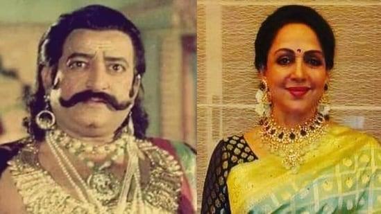It took Arvind Trivedi 20 takes to slap Hema Malini in Hum Tere Aashiq Hain,  Ramanand Sagar's son Prem recalls | Bollywood - Hindustan Times