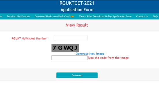 AP RGUKT-CET Result 2021: Candidates who have appeared in the Comment Entrance Test (CET) for RGUKT admissions this year can check their results at www.rgukt.in.(rguktcet.in)