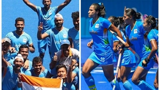 India scoop up FIH awards, Olympic champions Belgium cry foul(HT COLLAGE)