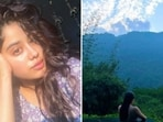 Janhvi Kapoor is on a spree of posting pictures from her recent vacation on Instagram. Her Instagram profile is replete with stunning pictures of herself in a picturesque location, amidst the greens and the hills. With the hills and the rivers in the backdrop, Janhvi posed for mesmerising pictures. She recently flew off to her getaway with friends and since then, we have been wondering about the location of her girls trip. But no more. On Thursday, Janhvi shared a photo dump on her Instagram and shared snippets from her trip to Rishikesh.(Instagram/@janhvikapoor)