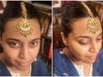 'A piece of' Swara Bhasker's Nani is this gorgeous gold maangtika(Instagram/@reallyswara)