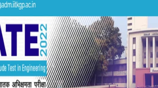 GATE 2022: Last date today to apply with late fees on gate.iitkgp.ac.in
