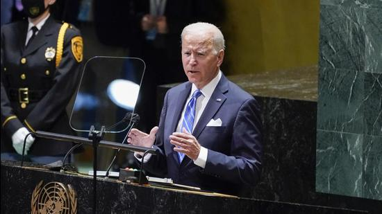 The Biden administration has said it is reviewing the relationship with Pakistan in the light of its role in Afghanistan (AP)