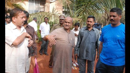Sri Ram Sene's chequered past back under lens after hate crime in Karnataka. (File)