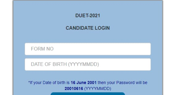 DUET 2021 answer keys: Candidates who have appeared for the exams can download the answer key online and raise objection/s if they want to..(nta.ac.in)