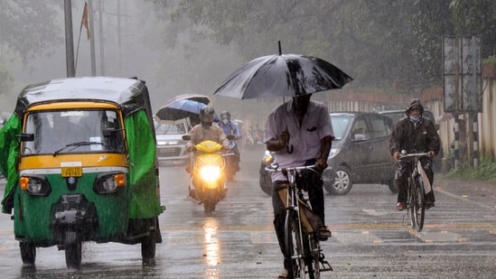 Cyclone Gulab led to widespread rainfall in Odisha in neighbouring states.(PTI Photo)