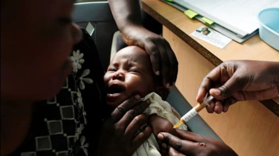 The vaccine that has been developed by Pharma major GSK. (AP)