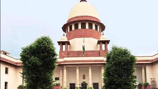 Supreme Court expressed its strong reservations on a petition that asked for continuation of virtual court hearings as a matter of fundamental right. (ANI)