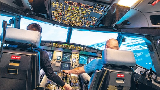 While the aviation industry at large has been actively investing in the development of Sustainable Aviation Fuels (SAF), more airlines are now committing to a phased switch-over to SAF. More airports are switching to eco-friendly energy sources. (REPRESENTATIVE PHOTO)