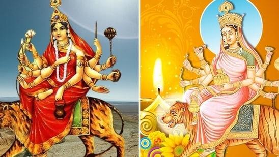 Shardiya Navratri 2021: Maa Chandraghanta and Maa Kushmanda story, puja vidhi, significance(Pinterest)