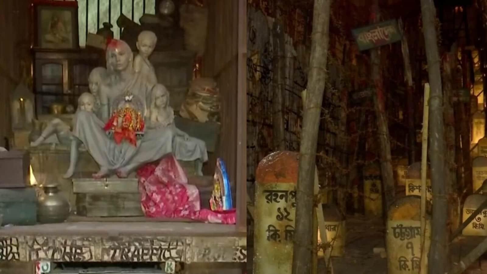 Durga Puja is political in Kolkata: NRC, migrant hardship theme for Behala's Barisha Club