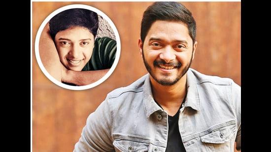 Shreyas Talpade at 22 (instead) and at 45 (above)