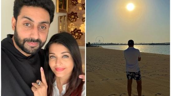 Abhishek Bachchan turned muse for Aishwarya Rai.