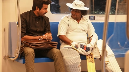 Doctor movie review: Sivakarthikeyan embraces a dark role.
