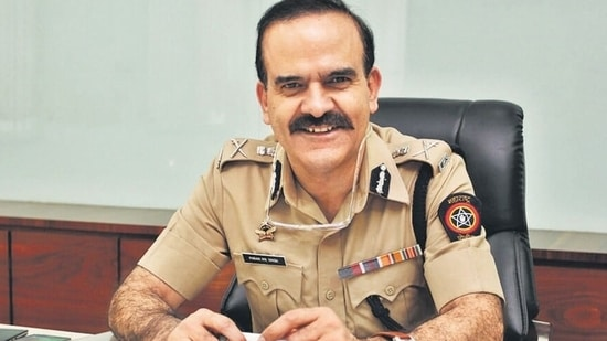 Param Bir Singh was removed as the commissioner of Mumbai Police in March, following the Antilia bomb scare and the subsequent Mansukh Hiren murder cases. (HT File Photo)