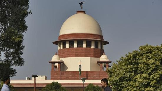 The court was considering a batch of appeals on whether NGT has the power to take notice of press reports or even seek a response from the State on preventing environmental damage without any application being filed before it (Burhaan Kinu/HT PHOTO)