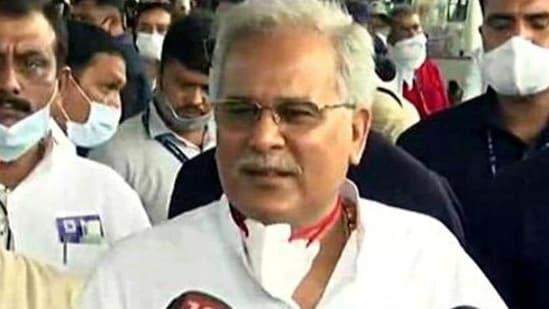 Chhattisgarh chief minister Bhupesh Baghel (File Photo)(ANI)